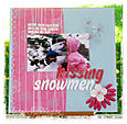 Kissing Snowmen